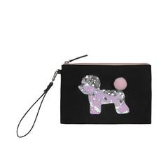 Year of the Dog Pouch in Black