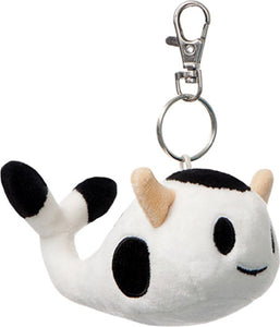 Moofia Plush Clip On - Milk Whale