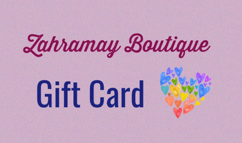 Zahramay Boutique Gift Card