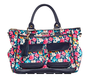 Triple Threat Convertible Nappy Bag - Posy Pop