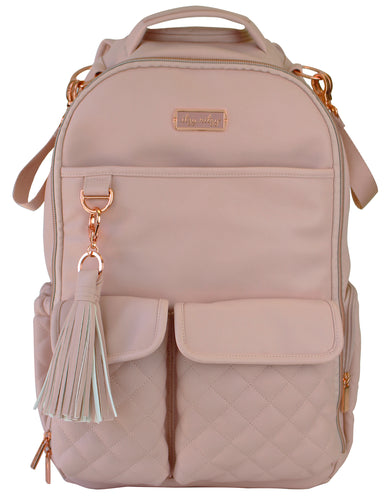 Boss Nappy Bag Backpack: Blush