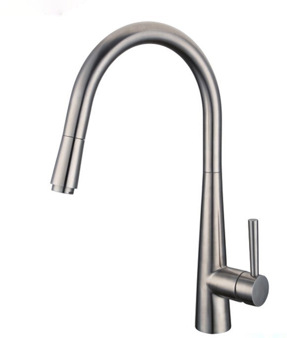 Willow Kitchen Mixer – Brushed Chrome