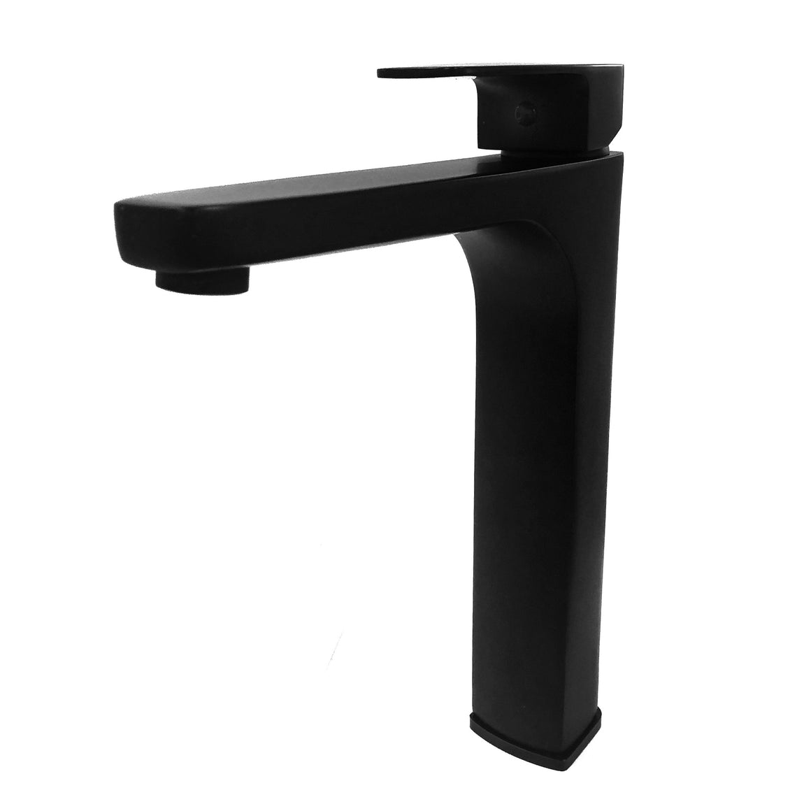 Tarawera Tall Basin Mixer – Matt Black