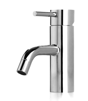 Wanaka Curve Basin Mixer – Chrome