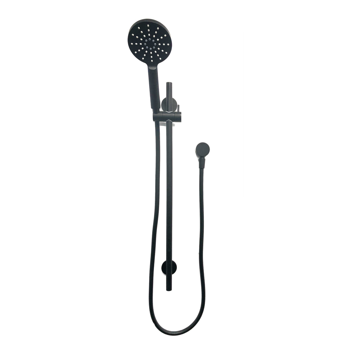 Willow Slide Shower – Matt Black