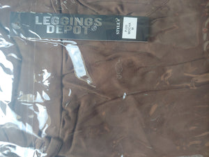 Solid Mocha Lounge/Sleep Pant