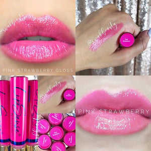 Limited Edition Pink Strawberry Lip Gloss - Senegence