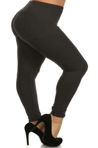 Extra Plus Solid Leggings