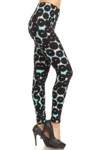One Size Coal Sprite (Susuwatari) Leggings