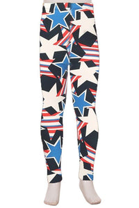 Kids Stars & Stripes Leggings