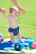 Aqua/Swim Nappy - pink polka dot