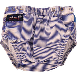 Aqua/Swim Nappy - blue stripe