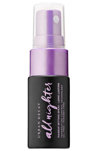 Urban Decay All Nighter Long Lasting Makeup Setting Spray Trial Travel Size 0 5 Fl Oz