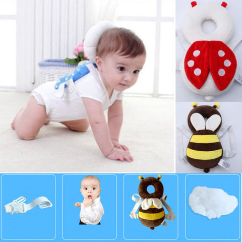Baby Toddler Drop-resistance Breathable Headrest Baby Head Protection Back Pad Shatter-resistant Pillow Anti-collision Head Cap Pillow