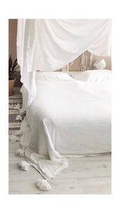 Blanket White | 300x240cm | Double bed