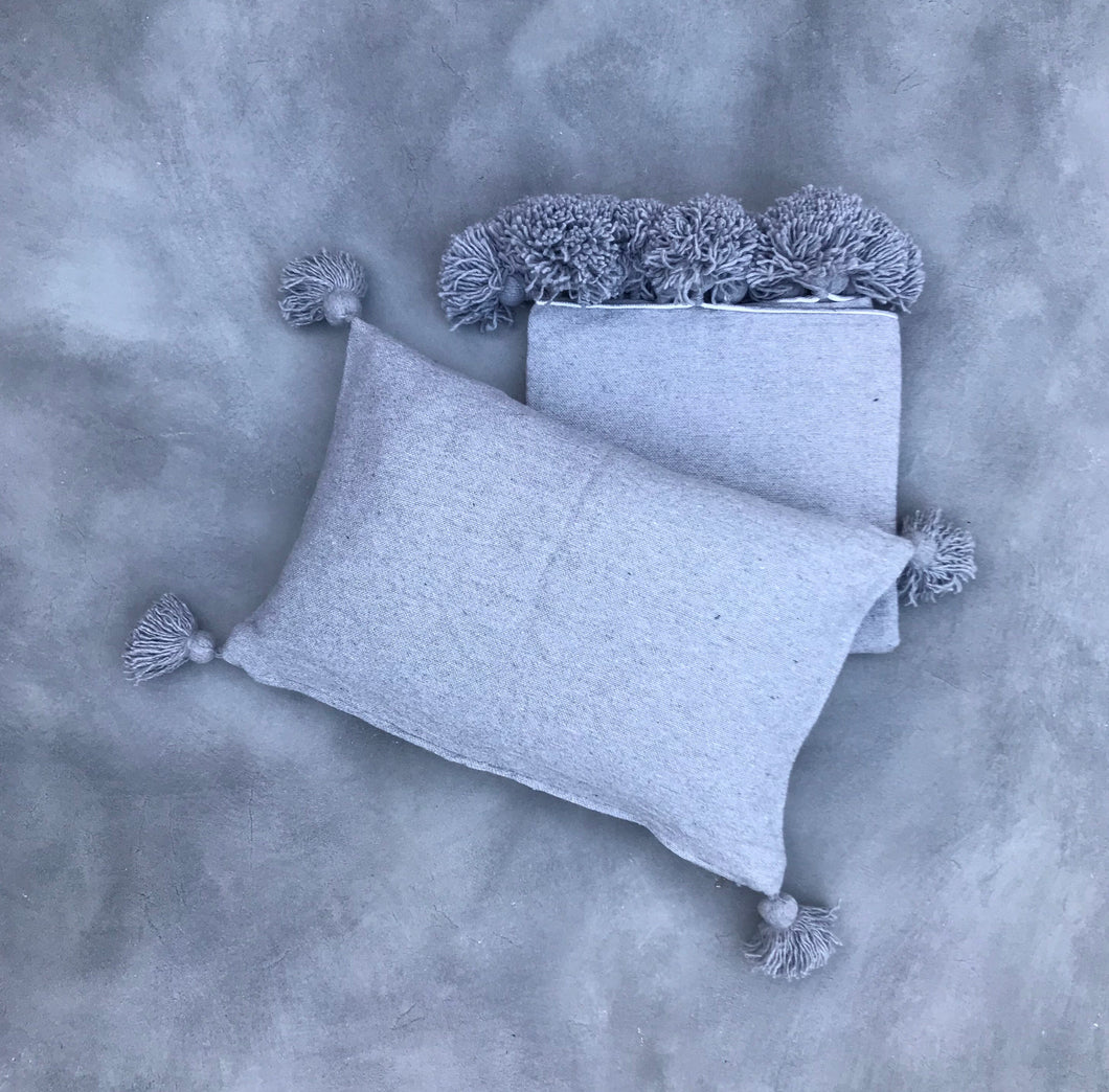Blanket 150/150 + Pillow | Grey