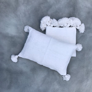 Blanket 305x200 + 2x Pillow | White