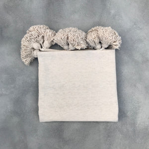Blanket 305x200 + 2x Pillow | Cream