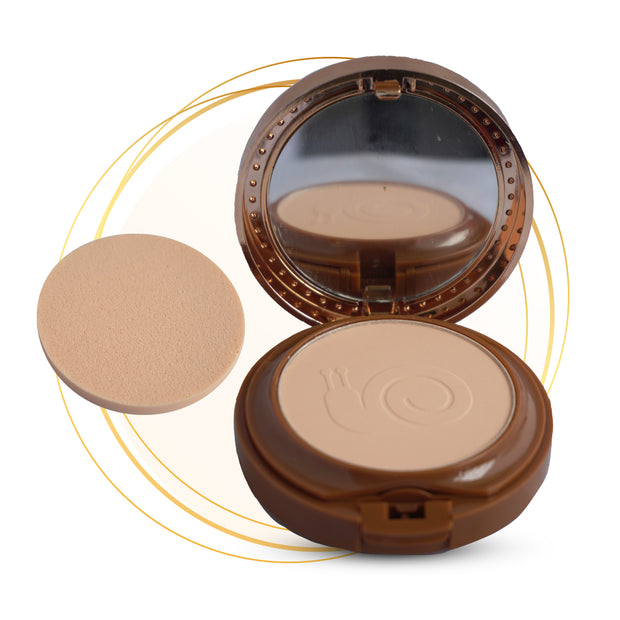 Base Mat Touch + Polvos Compactos Kiss Beauty - Caracol