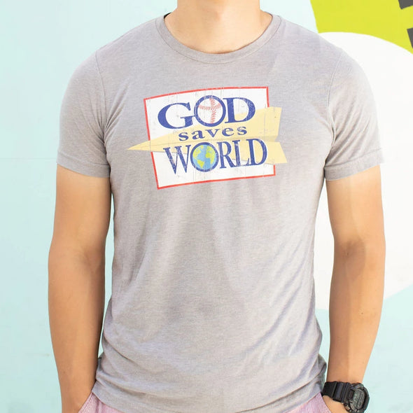 God Saves World Tee