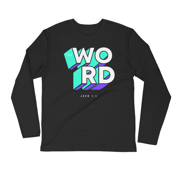 WORD Long Sleeve Tee