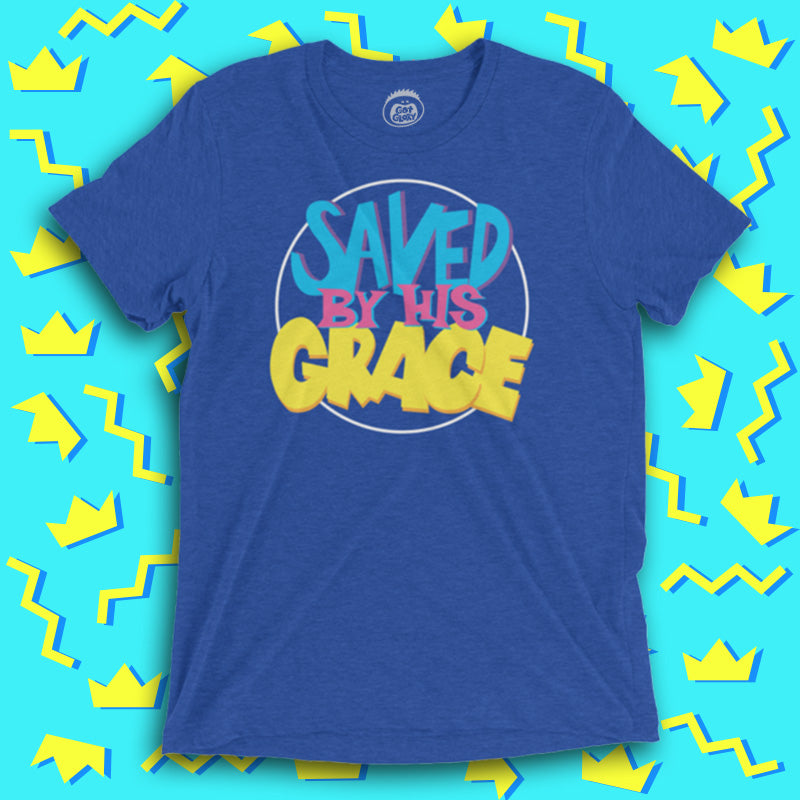 Saved By His Grace Tee