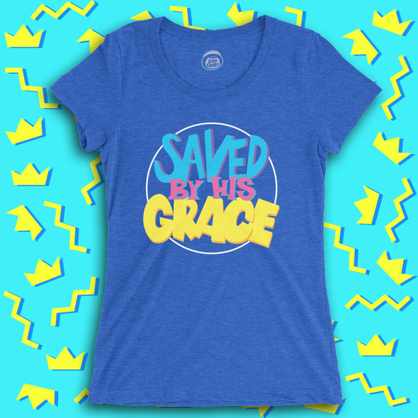 Saved By His Grace Ladies Tee