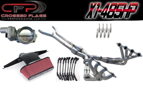 C6 Corvette X-1 Performance Package - Crossed Flags Performance, LLC - 510 Race Engineering