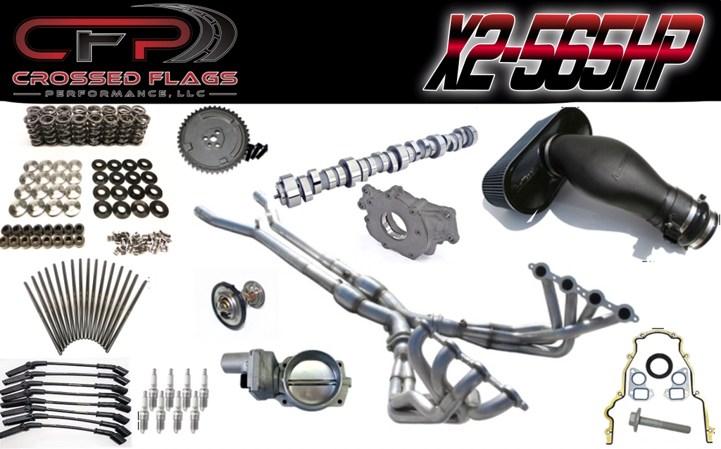 C6 Corvette X-2 Performance Package - Crossed Flags Performance, LLC - 510 Race Engineering