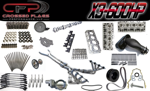 C6 Corvette X-3 Performance Package - Crossed Flags Performance, LLC - 510 Race Engineering
