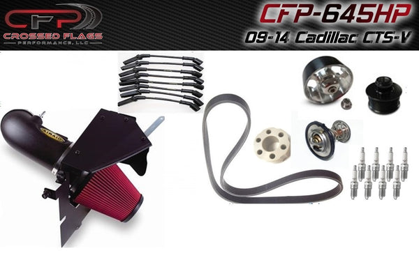 CFP 645HP Package for 09-14 Cadillac CTS-V - Crossed Flags Performance, LLC - 510 Race Engineering