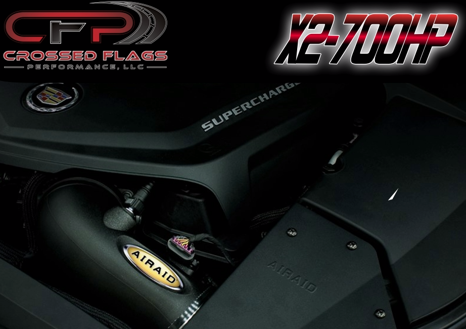 CFP 700HP Package for 09-14 Cadillac CTS-V - Crossed Flags Performance, LLC - 510 Race Engineering