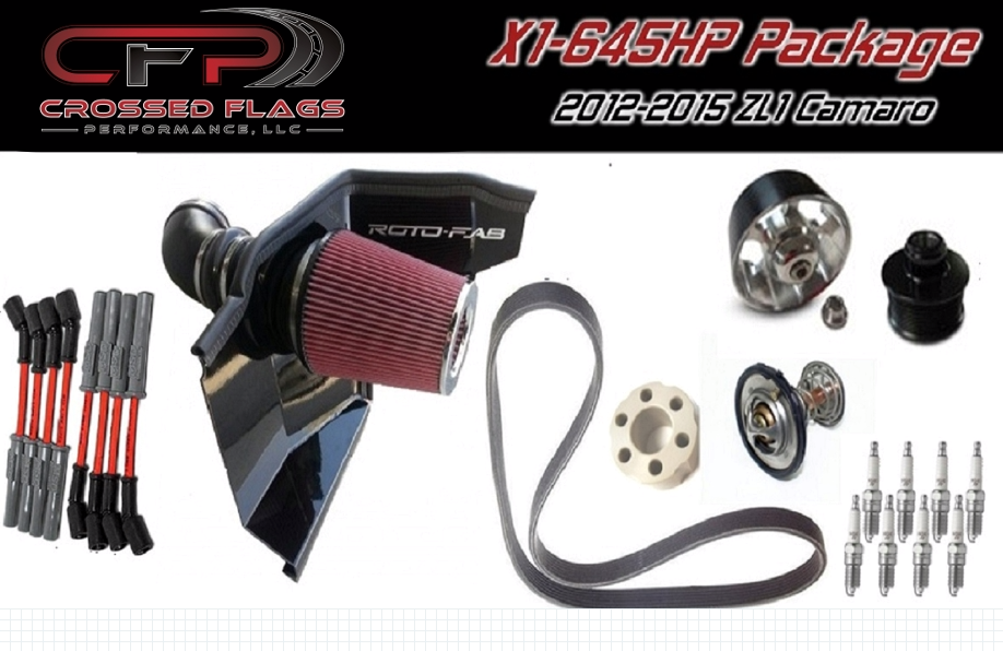 CFP 645HP Package for 12-15 ZL1 Camaro - Crossed Flags Performance, LLC - 510 Race Engineering
