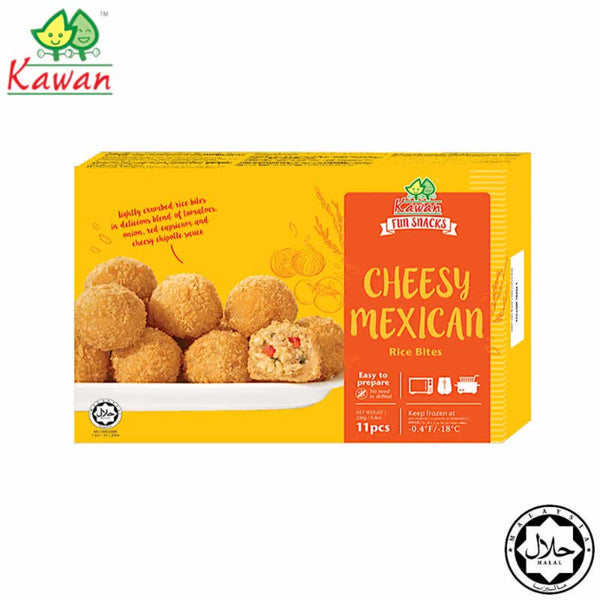 KAWAN Cheesy Mexican Rice Bites (11 pcs - 250g)