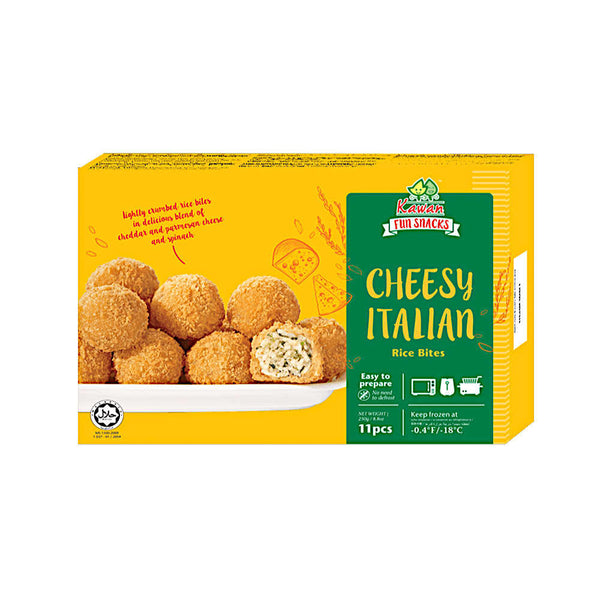 Cheesy Italian Rice Bites (11 pcs - 250g)