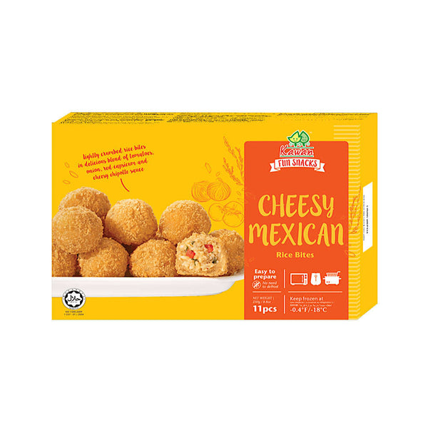 Cheesy Mexican Rice Bites (11 pcs - 250g)