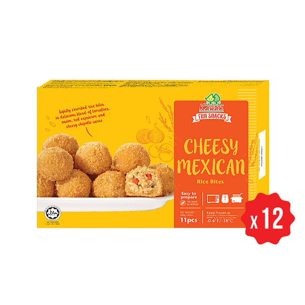 [Carton] Cheesy Mexican Rice Bites (11 pcs - 250g)