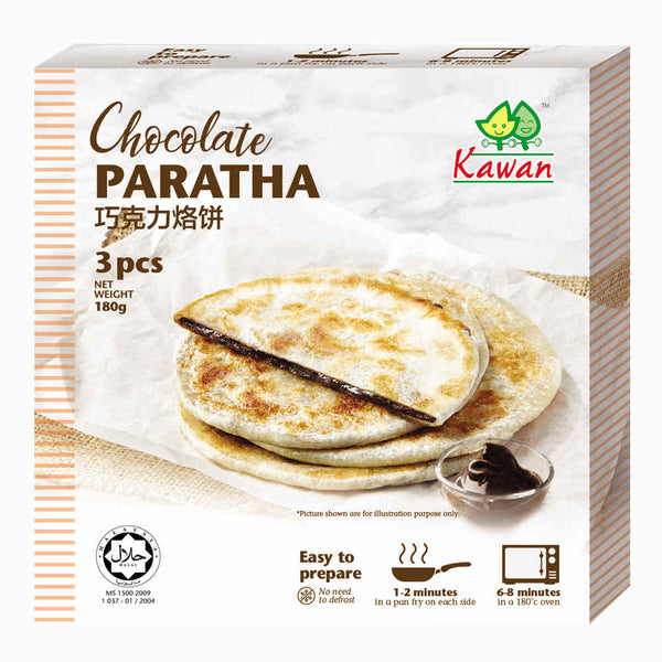 KAWAN Chocolate Paratha (3 pcs - 180g)