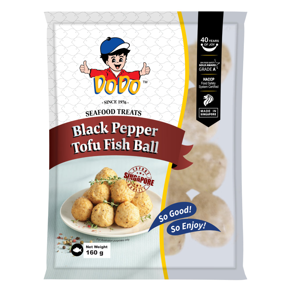 DODO Black Pepper Tofu Fish Ball (160g)