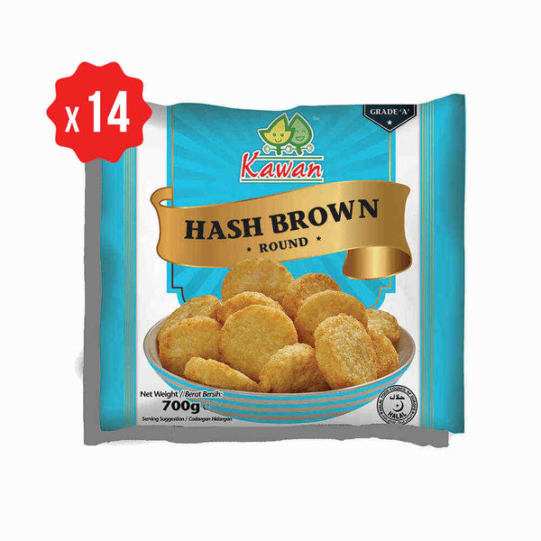 [Carton] Hash Brown Round (14 packets x 700g)