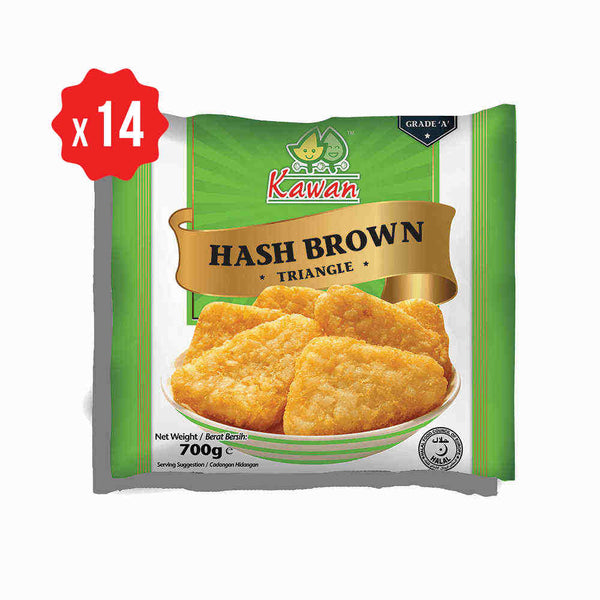[Carton] Hash Brown Triangle (14 packets x 700g)