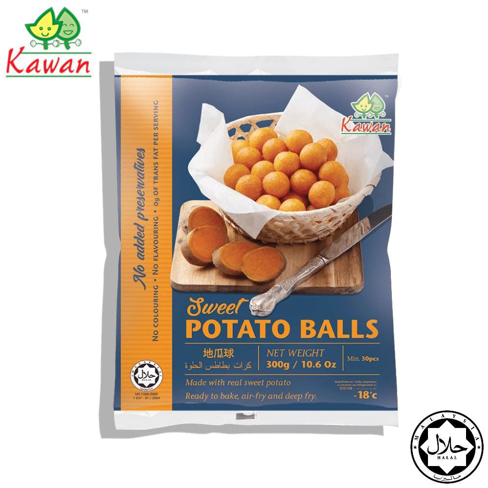 KAWAN Sweet Potato Ball (30pcs x 10g)