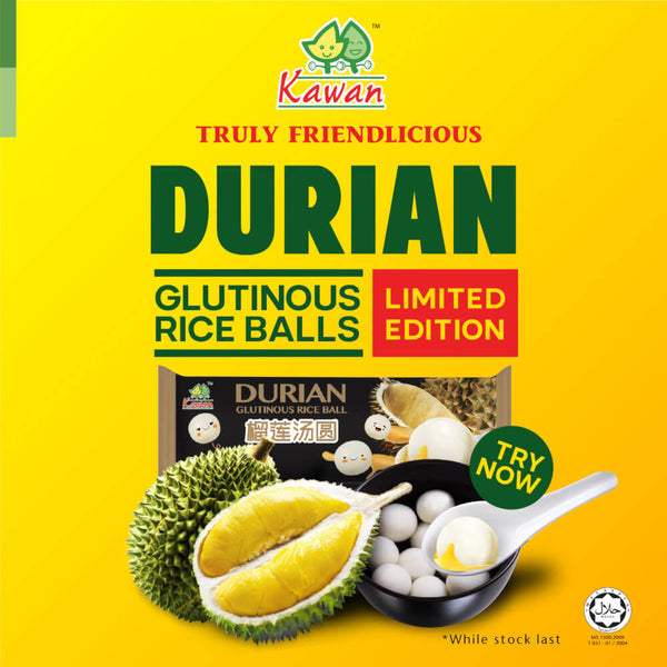 Durian Tang Yuan (Glutinous Rice Ball) [Limited Edition] 10 Pieces