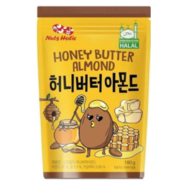 Nuts Holic Honey Butter Almond 180g