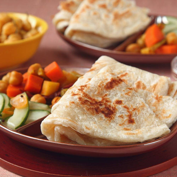 KAWAN Plain Paratha Value Pack (25 pcs - 2kg)