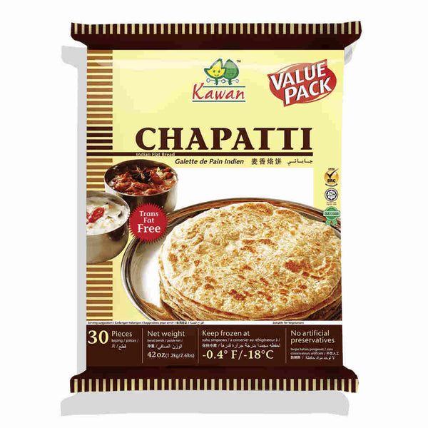 Roti Chapatti Value Pack (30 pcs - 1.2kg)