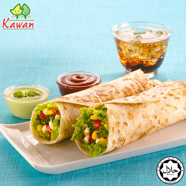 "[Carton] Roti Wraps 9"" (6 pcs x 24 packets) by Kawan Food Malaysia Online Store"