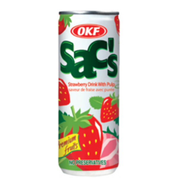 OKF Sac's (Strawberry) 240ml