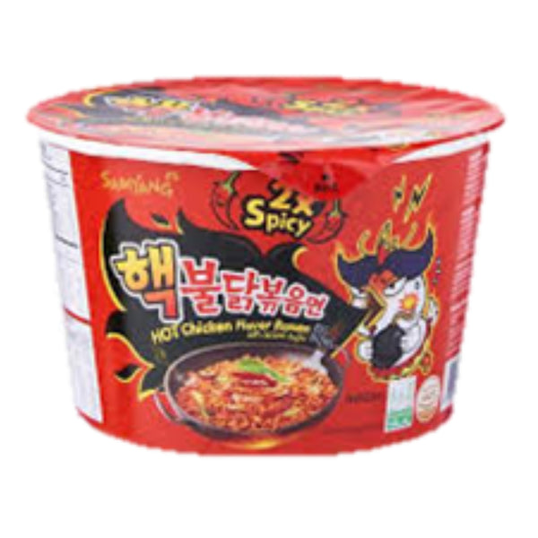 Samyang Hot Chicken Double Spicy Big Bowl 105g