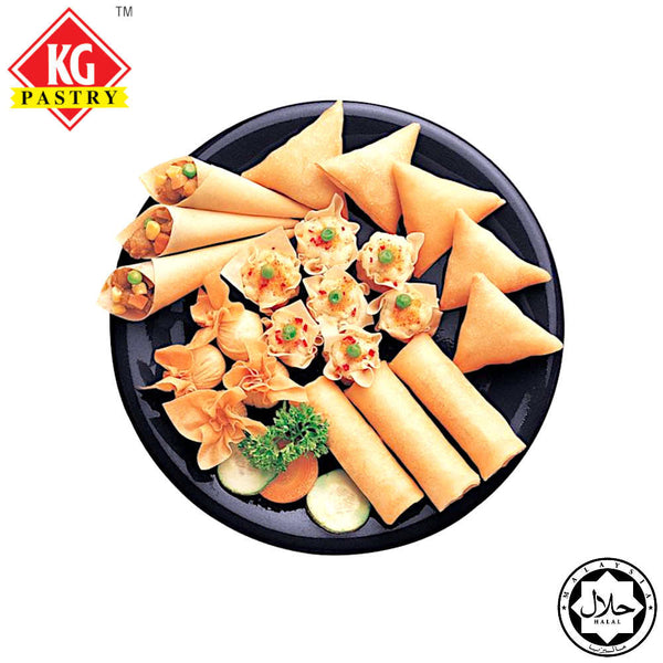 "[Carton] Spring Roll Pastry 7.5"" (50 sheets x 20 packets)"